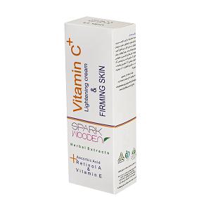 کرم روشن کننده اسپارک وودن مدل +vitamin c حجم 75 میل
